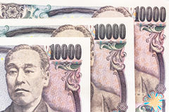 Japanese yen banknotes Stock Photography