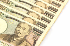 Japanese Yen banknotes . Royalty Free Stock Images