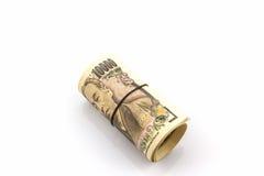 Japanese Yen banknotes. Stock Image