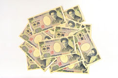 Japanese 1000 Yen Royalty Free Stock Images
