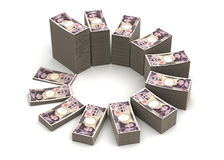 Japanese Yen Chart Royalty Free Stock Image