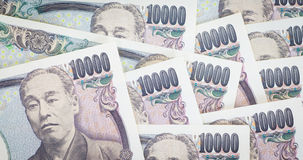 Japanese yen currency bank note Stock Image