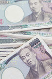 Japanese yen currency bank note Royalty Free Stock Images