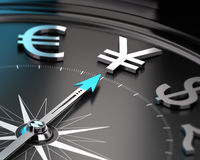 Japanese Yen Currency - JPY Concept Stock Image