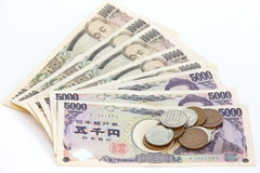 Japanese yen Stock Image