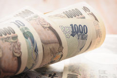 Japanese Yen Royalty Free Stock Photos