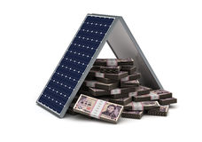 Japanese Yen Energy Saving Stock Photography
