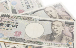 10000 Japanese Yen Note Stock Photography