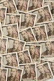 Japanese yen notes. Royalty Free Stock Photos