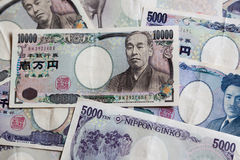 Japanese yen Royalty Free Stock Images