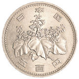 500 japanese yens coin Stock Images