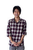 Japanese youth. Photograph of Japanese male teen Royalty Free Stock Photos