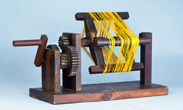 Japanese Zakuri Silk  Reel. Stock Images