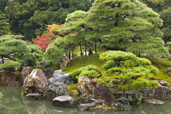 Japanese zen garden Royalty Free Stock Photography