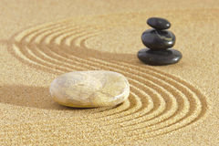 Japanese ZEN garden Stock Photos