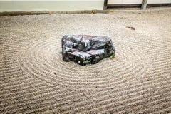 Japanese zen garden - Kyoto, Japan royalty free stock images