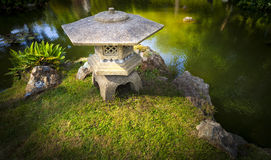 Japanese Zen Garden Pagoda Stock Photos