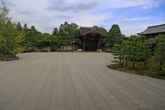 Japanese Zen garden Royalty Free Stock Photos
