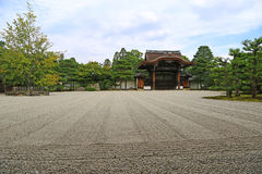 Japanese Zen garden Royalty Free Stock Image
