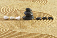 Japanese ZEN garden Royalty Free Stock Photos