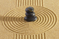 Japanese ZEN garden Stock Photography