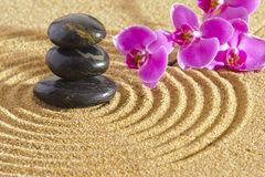 Japan zen garden Stock Photography