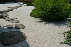 Japanese zen garden Stock Image