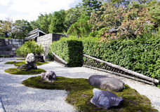 Japanese zen gardens Stock Photography