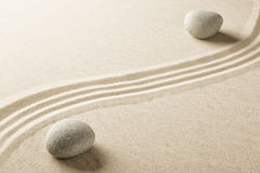 Japanese zen meditation garden Stock Photography