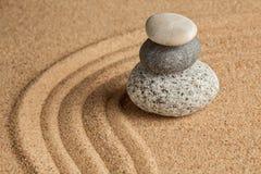 Japanese Zen stone garden Stock Photography