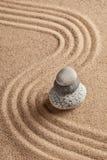 Japanese Zen stone garden Stock Photo