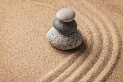Japanese Zen stone garden Stock Images