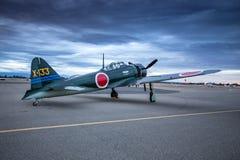 Japanese Zero Royalty Free Stock Photo