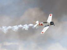 Japanese zero fighter Stock Photos