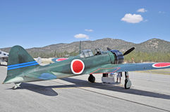 Japanese Zero Fighter Stock Images