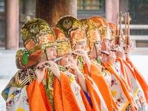 JapaneseMonk Royaltyfri Fotografi