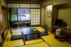 Japanesestyle tatami rooms Royalty Free Stock Photography
