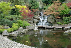 Japaness Garten Lizenzfreie Stockbilder