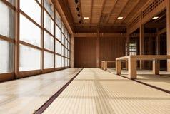 Japanisch-Art Raum Lizenzfreie Stockfotos