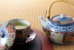 Japanisch-Art Teebruch Lizenzfreie Stockfotos