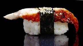 Japanische Aalsushi Stockfoto