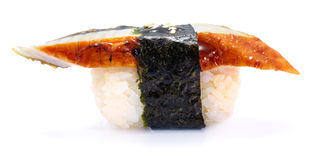 Japanische Aalsushi Lizenzfreies Stockbild