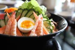 Japanische Art des Salats lizenzfreie stockfotos