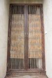Japanische Bambustür Stockfotos
