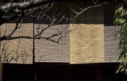 Japanische Blendenverschlüsse Stockbild