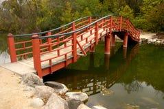 Japanische Brücke Stockbilder