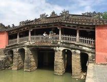 Japanische Brücke in Hoi An, Vietnam Stockfoto