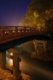 Japanische Brückenvertikale Stockfoto
