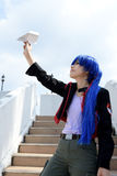 Japanische cosplay Mädchen Lizenzfreies Stockbild