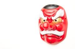 Japanische Dämonmaske-c$tengu Stockfotos